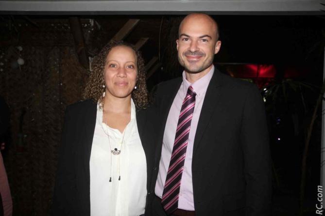 Willy Ethève, le directeur de l'IRT, et son épouse
