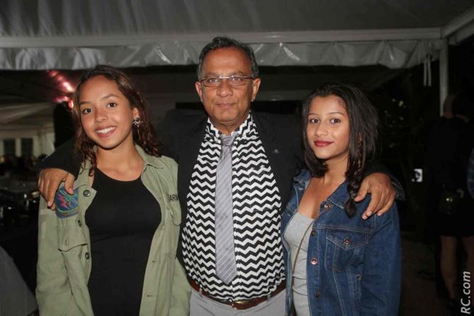 Hassen Locate et ses filles