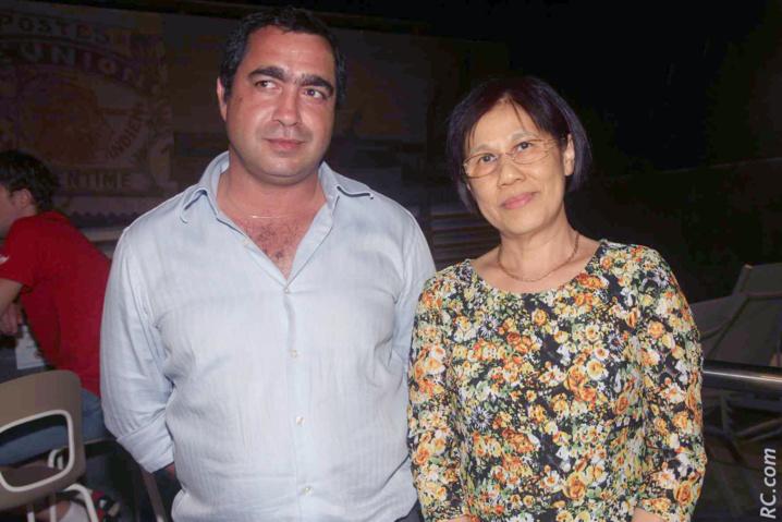 Laurent Lorion, directeur financier à la CIVIS et Clarisse Chu Fuk Shiang, de Azot Tour