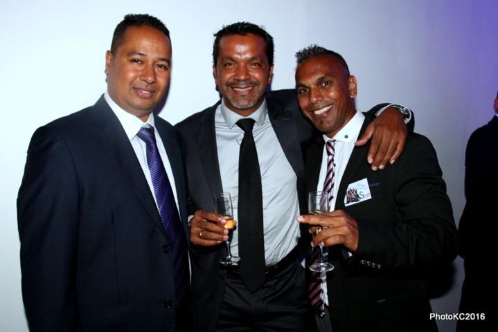 J.Louis Moutoussamy d'ADM, Antony Taïlamé et Rolly Parvedy