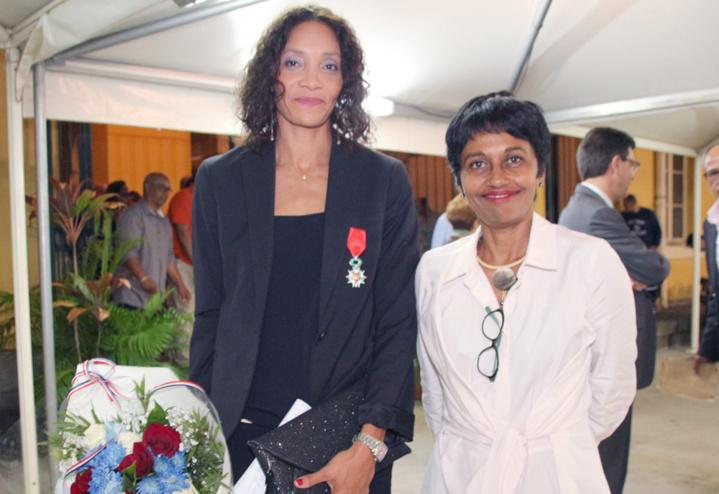 Leïla Lejeune-Duchemann, et Ericka Bareigts