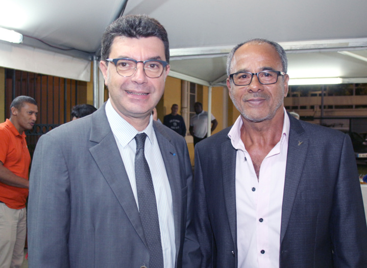 Maurice Barate et Alain Couderc