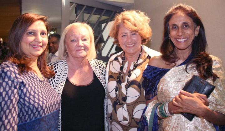 Yasmine Ravate, Madame Aude, Madame Barate et une invitée