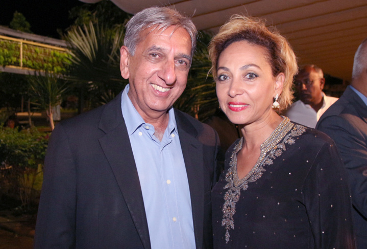 Aziz Patel et Corine Robert