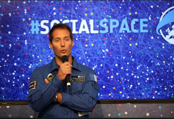 Thomas Pesquet, l'astronaute français entre dans l'histoire