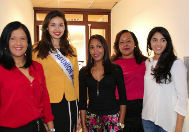 Le président de la CCIR a reçu Miss Réunion 2016