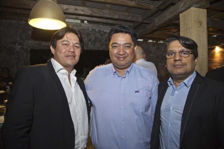 Mamisoa Rajoel (au centre) était présent
