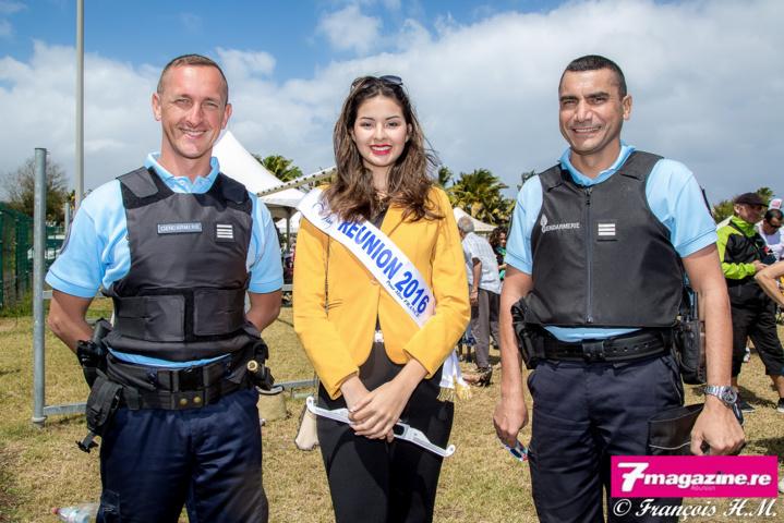 Miss Réunion bien protégée!