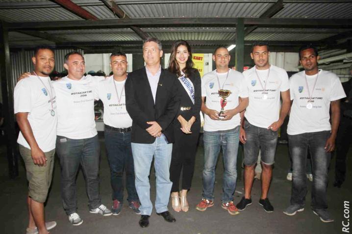 Ambre N'guyen, Miss Réunion 2016, au Challenge Rotakarting
