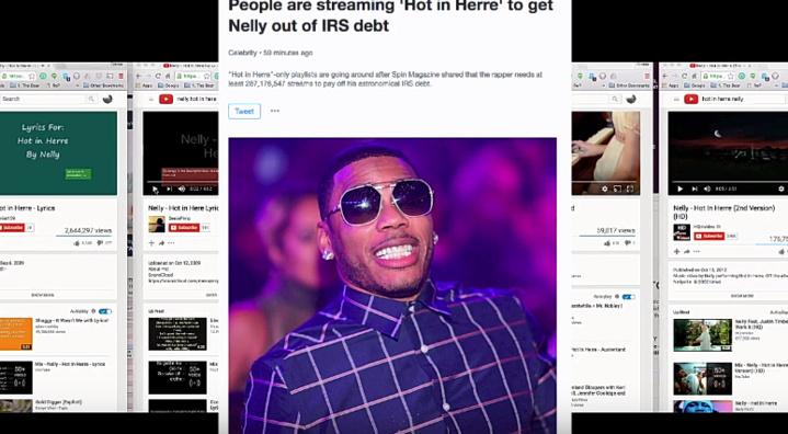 Les fans du rappeur Nelly paient ses impôts!