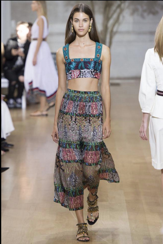 Fashion week de New-York: Pauline Hoarau sublime!