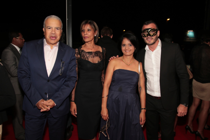 Christian Dijoux directeur du cabinet de Nassimah Dindar, Kelly Dargaud, Véronique Bassin et Maxime Fourano