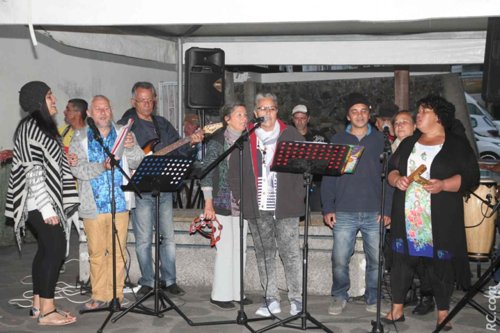 Le groupe Kerveguen est venu «met' l'ambiance» dans le centre-ville