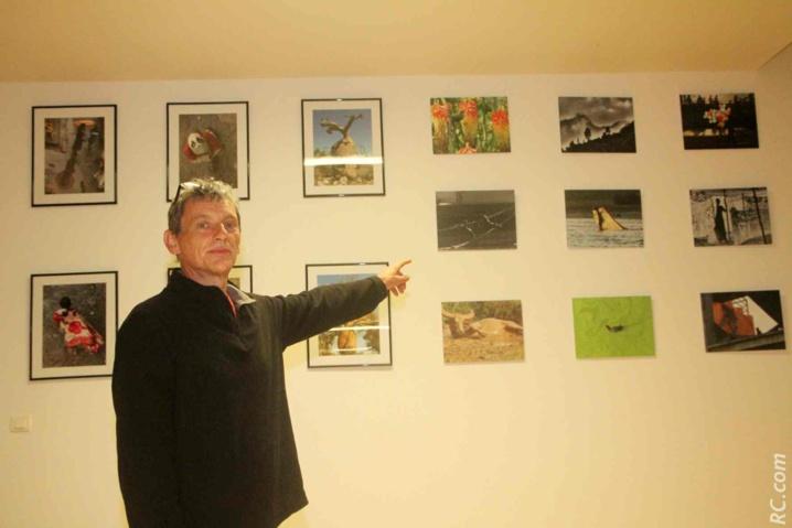 Exposition de photos à la salle multi-médias en compagnie de Fred Marin