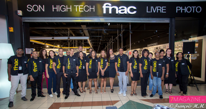 L'équipe FNAC du Port