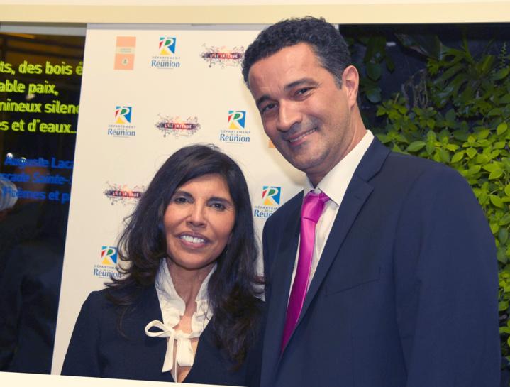 Nassimah Dindar et Stéphane Bijoux de France Télévisions