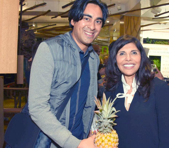 Elias Akhoun de France Télévisions et Nassimah Dindar