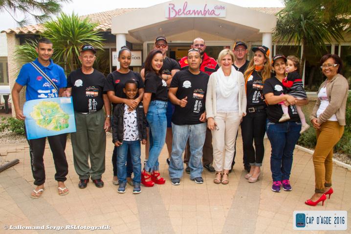 La délégation Réunion au Cap d'Agde