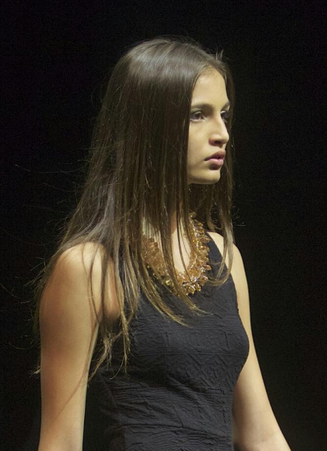 Kiara sur le catwalk de la finale Reunion Island en juin