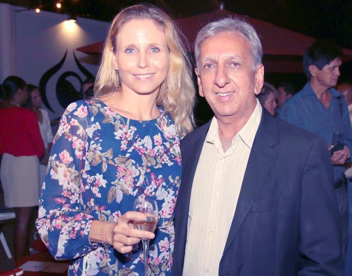 Natalie du Buisson et Aziz Patel