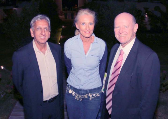 Aziz Patel, Catherine Ronin et Alain St Ange