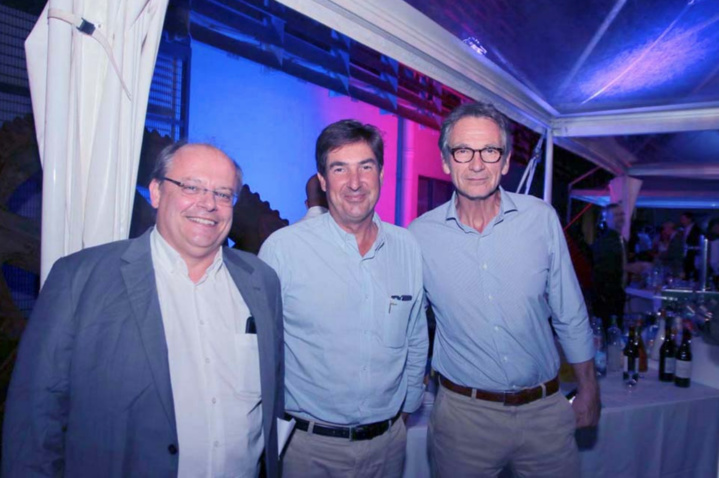 Claude Bihry, Amaury de Lavigne, et Philippe Lauthier
