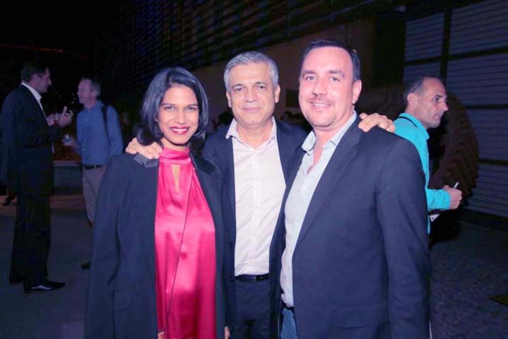 Ingrid Taïlé Manikom, Michel Dijoux, et Laurent Blériot