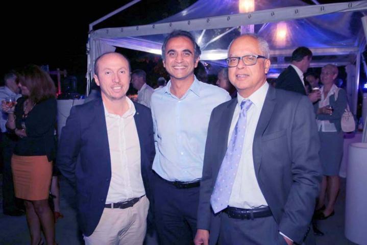 Dominique Vienne, Nassir Goulamaly, et Didier Fauchard
