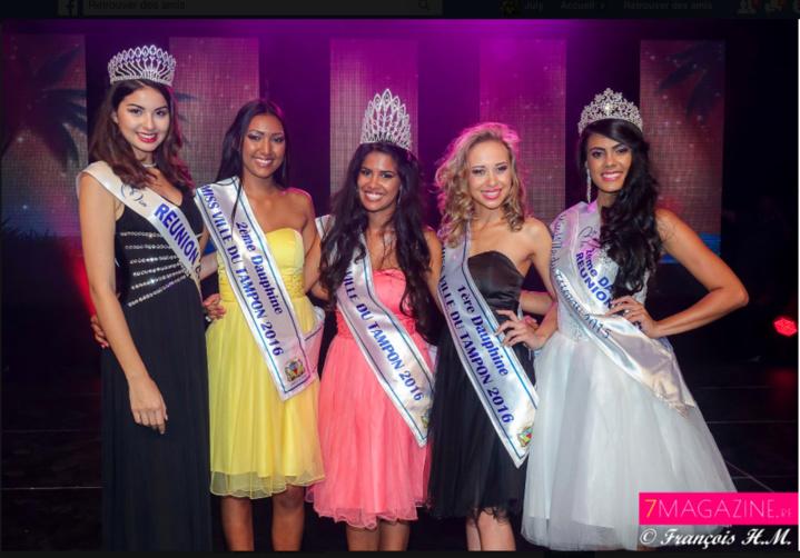 Vâni Hoareau élue Miss Ville du Tampon 2016