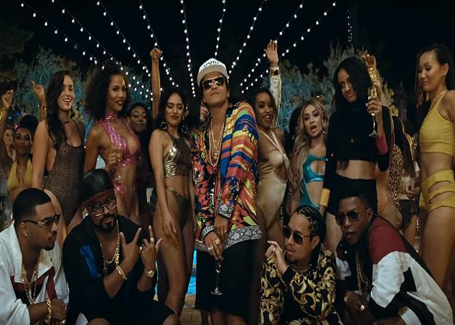 "Bruno Mars revient avec ""24k Magic"""