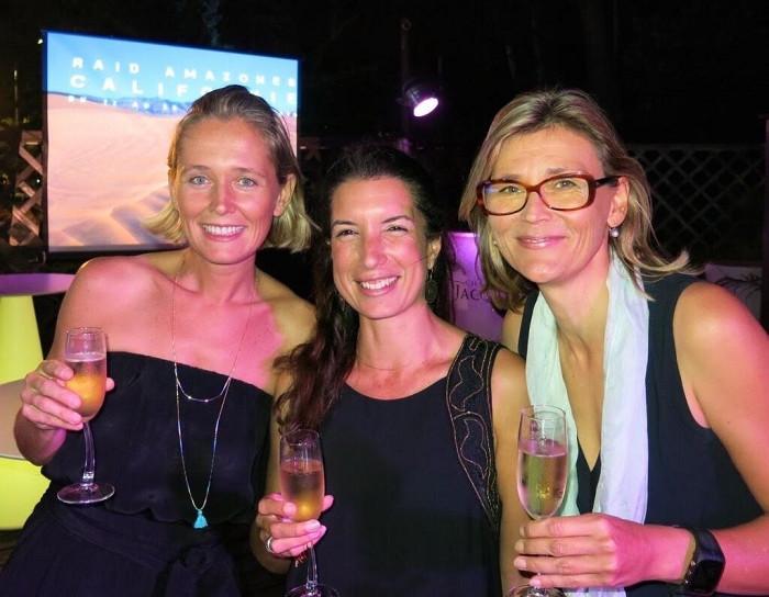 Martine, Alexandra et Franziska