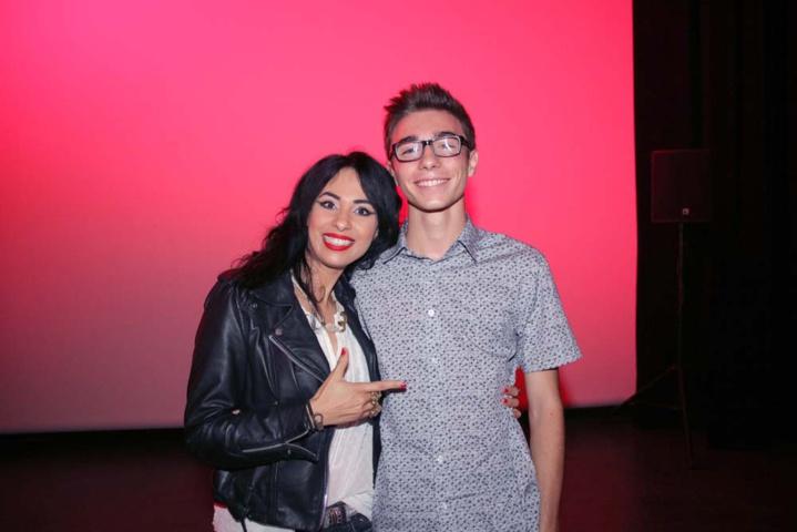 Avec Mathieu Manson, lauréat du Prix Jeunesse Canal+ MEME PAS PEUR 2016