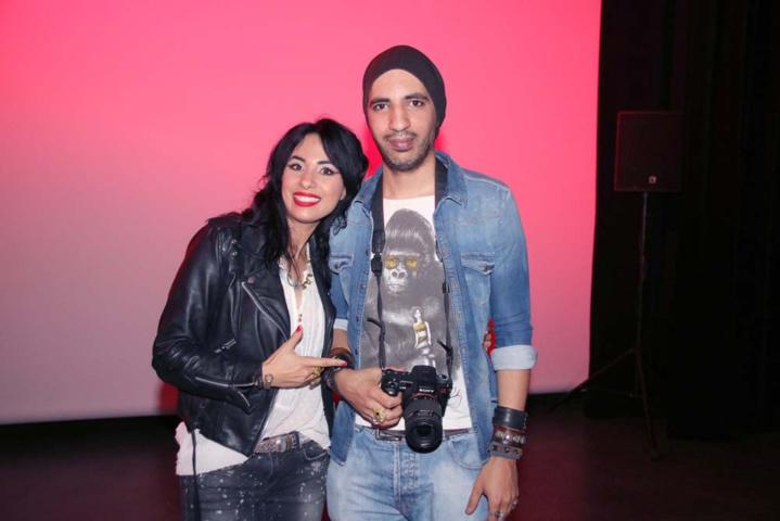 Avec son frère Pablo, compositeur du film