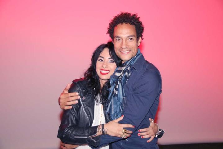 Avec Camille Bessière qui joue Adam dans le film