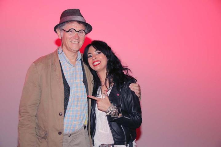 Avec René-Louis Pestel, président de la Cité des Arts