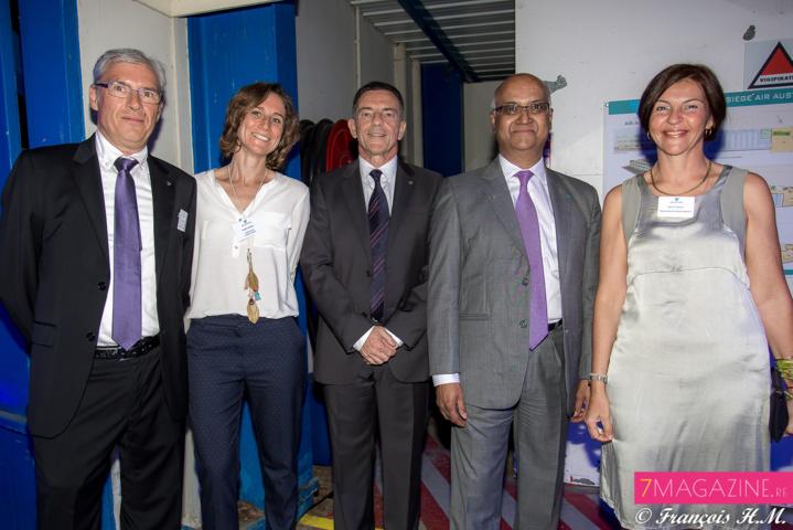 David Rougeau, Karine Bonnal, Jean-Marc Gazzini, Marie-Joseph Malé et Valérie Boschian-Calligrafi