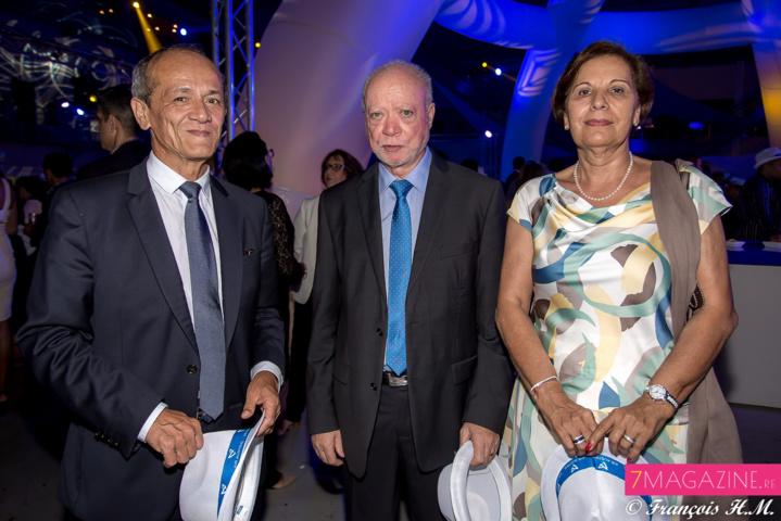 Loïc Armand, Jean-Claude Fruteau et son épouse