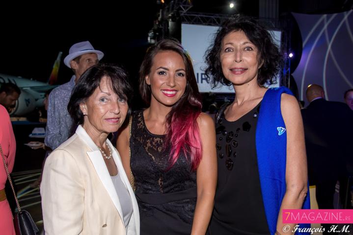 Audrey Dardenne et sa mère, avec Myrella Cadet