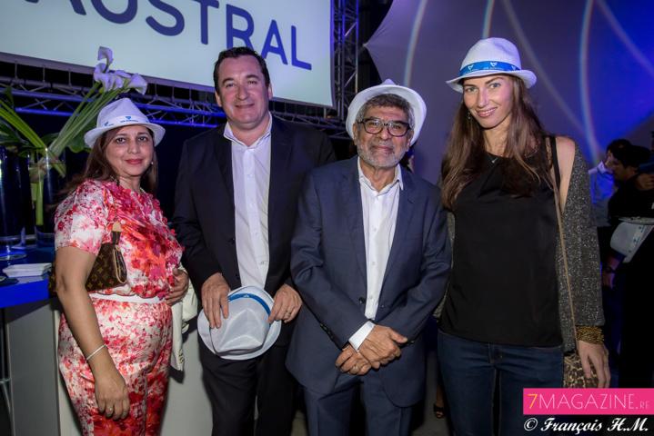 Yasmine Ravate, Pascal Turonnet, Adam Ravate et Virginie Turonnet