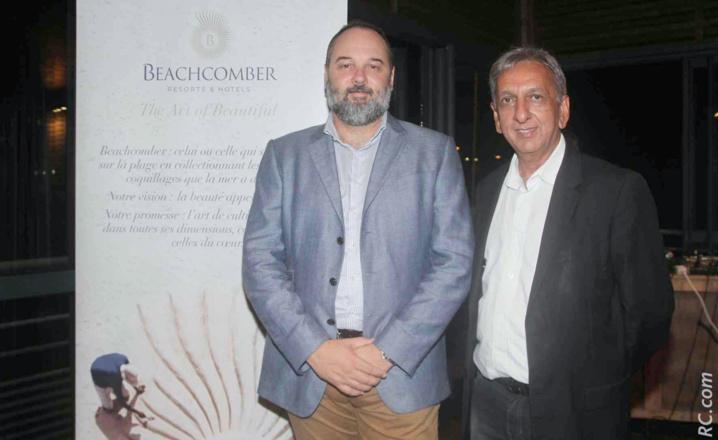 Nicolas Staub et Aziz Patel