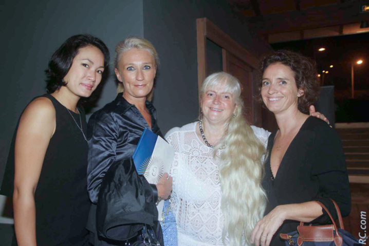 Chloé Kee-Soon, Catherine Ronin, Joëlle Brunet et Virginie Lerat