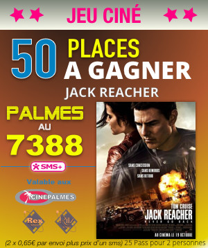 [JEU] La sortie du mercredi : Jack Reacher