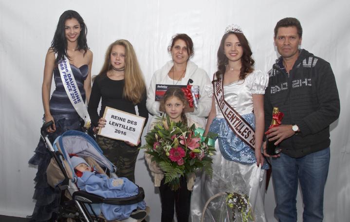 Ophélie Baillif avec sa famille