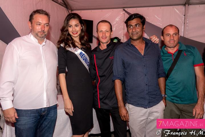 Thierry Kasprowicz de Mets Plaisir, Ambre N'guyen, Samuel Tétard, Christian Virassamy, et un invité