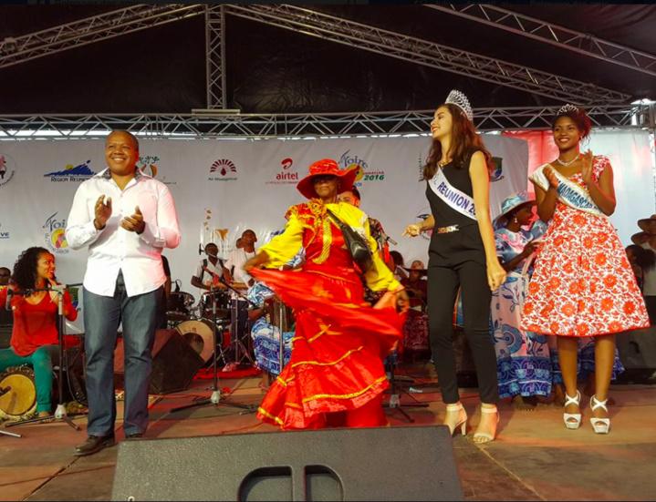 Miss Réunion à la Foire de Tamatave