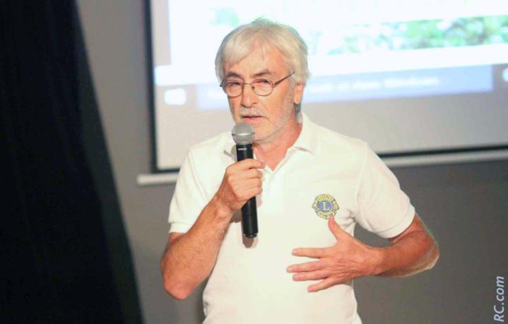 Fernand Alvarez, vice-président du club du Tampon Concession