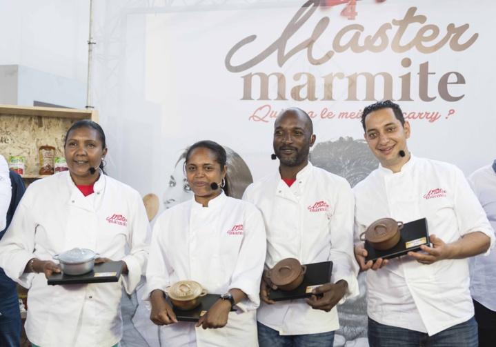 Les quatre finalistes Master Marmite 2016