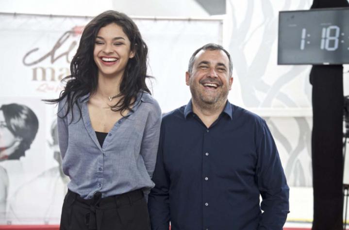 Azuima Issa et Olivier Bajard dans l'ambiance festive de ce concours!