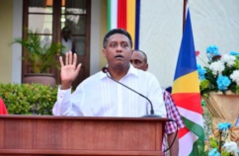 Danny Faure nouveau président de la République des Seychelles