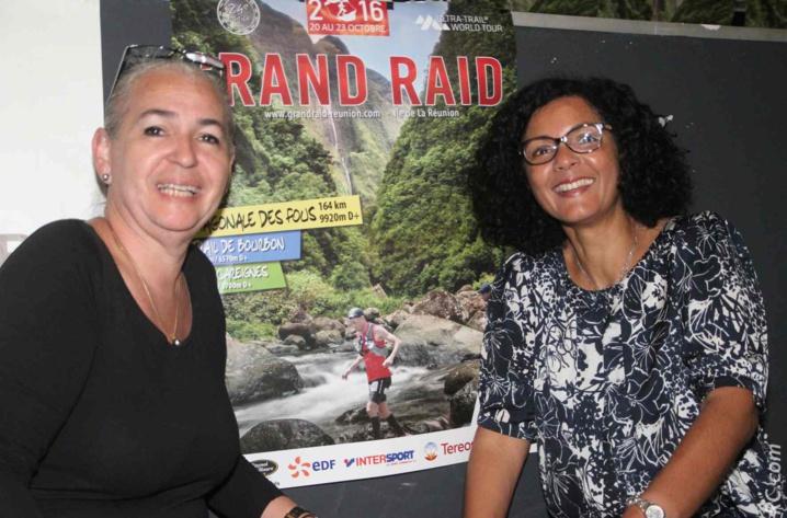 Danièle Lenormand, vice-présidente du Conseil Régionale, Nathalie Bassire, conseillère régionale qui a déclaré «En tant que réunionnaise, je suis fière que cette course ait pris une telle ampleur pour redorer l'image de notre île quelque peu mise à mal ces derniers temps»